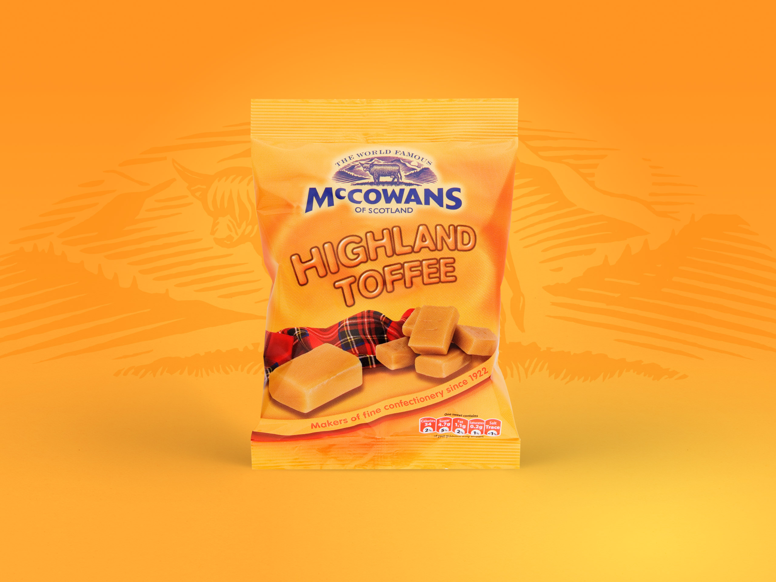 McCowans - Highland Toffee Packaging - Packaging Design